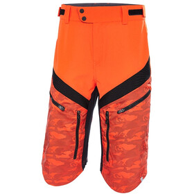 Protective Aru Cycling Shorts Men orange/black